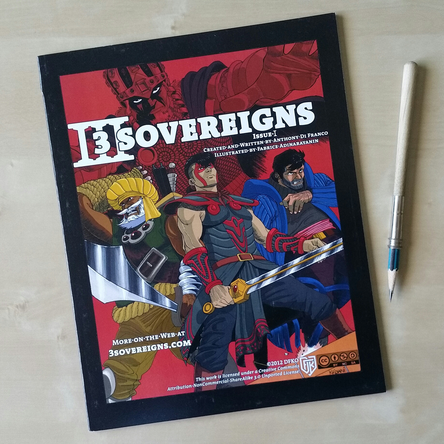 Three Sovereigns Issue 1